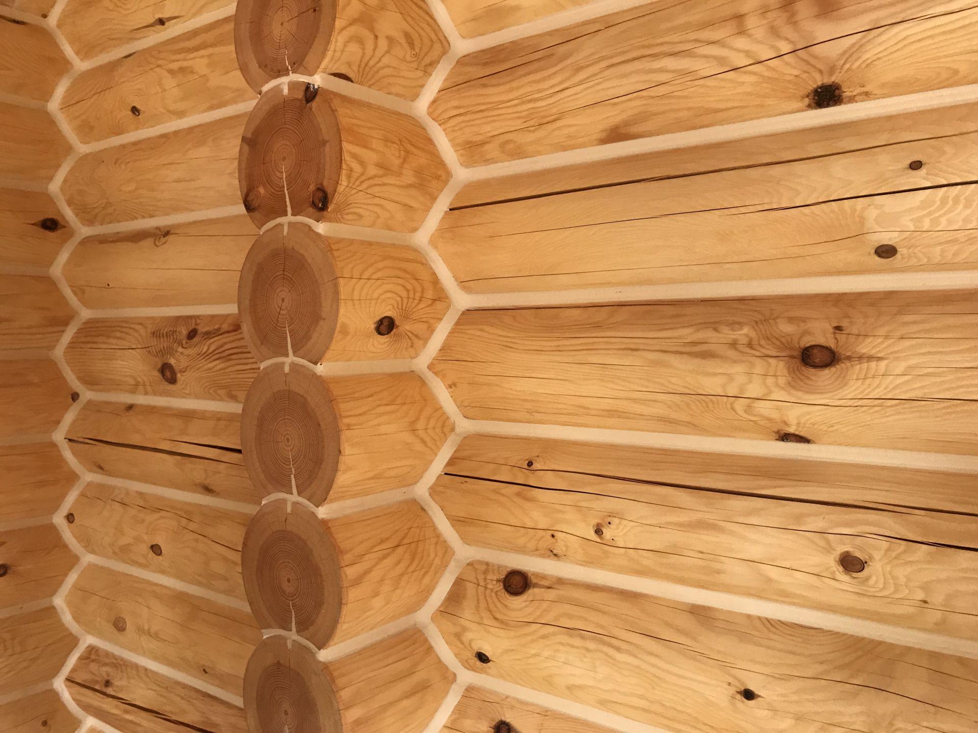 Герметизация стен деревянного дома по технологии
